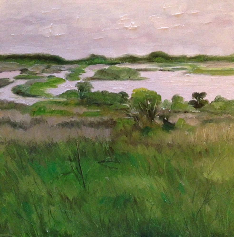 """Jeanne's Marsh "" original fine art by Beth Moreau"