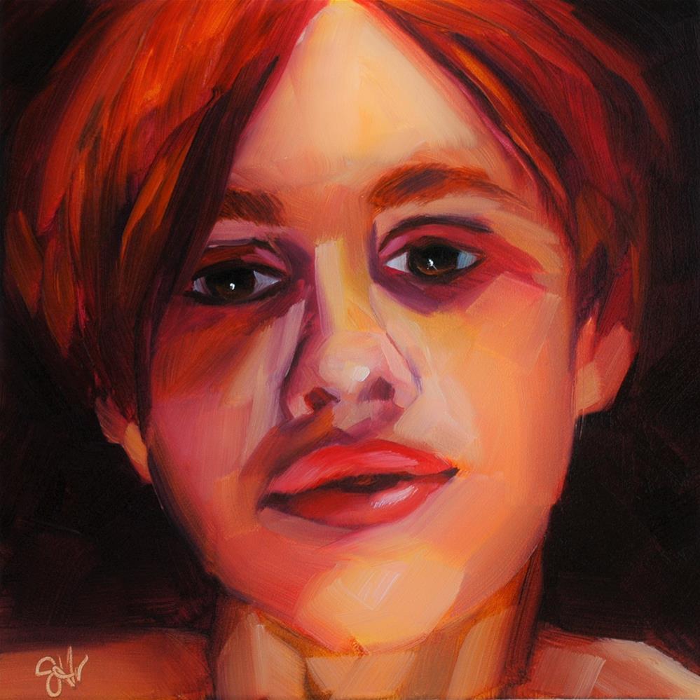 """Ember"" original fine art by Janette Harter"