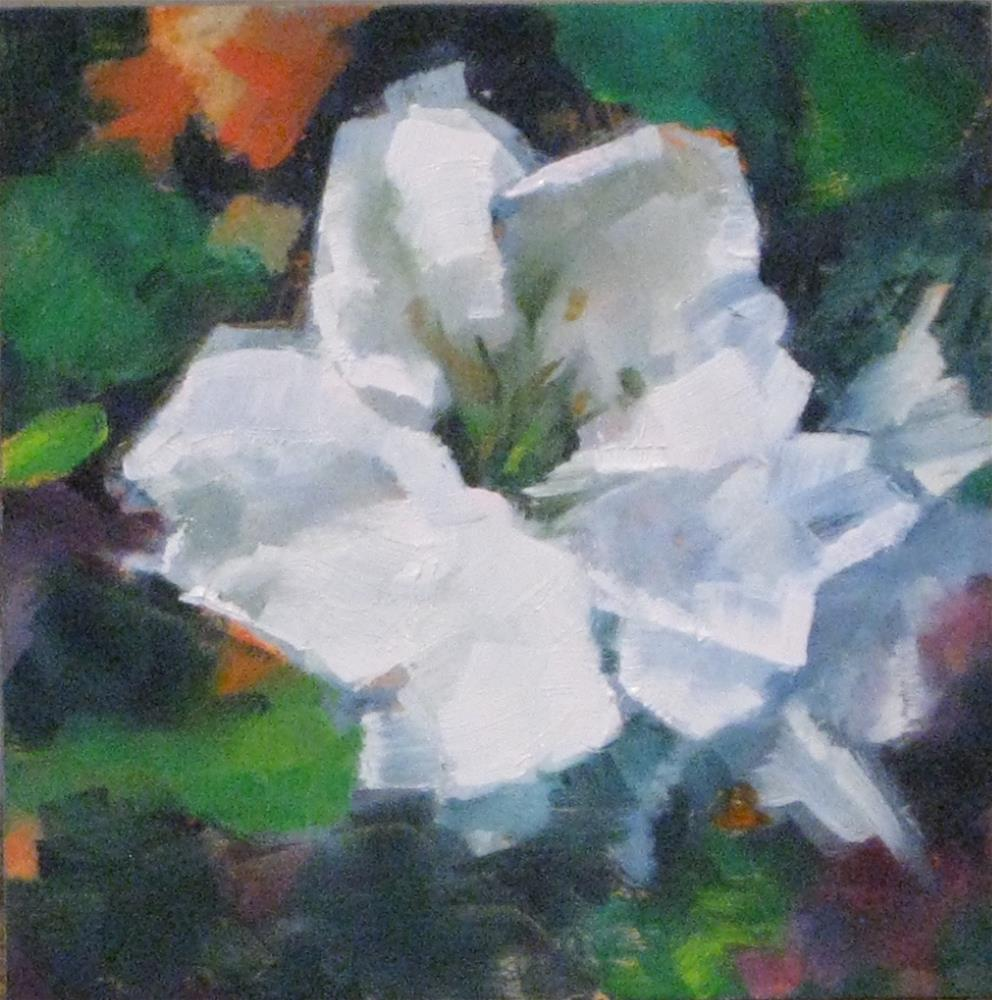 """FLOWER POWER"" original fine art by Kris Stewart"