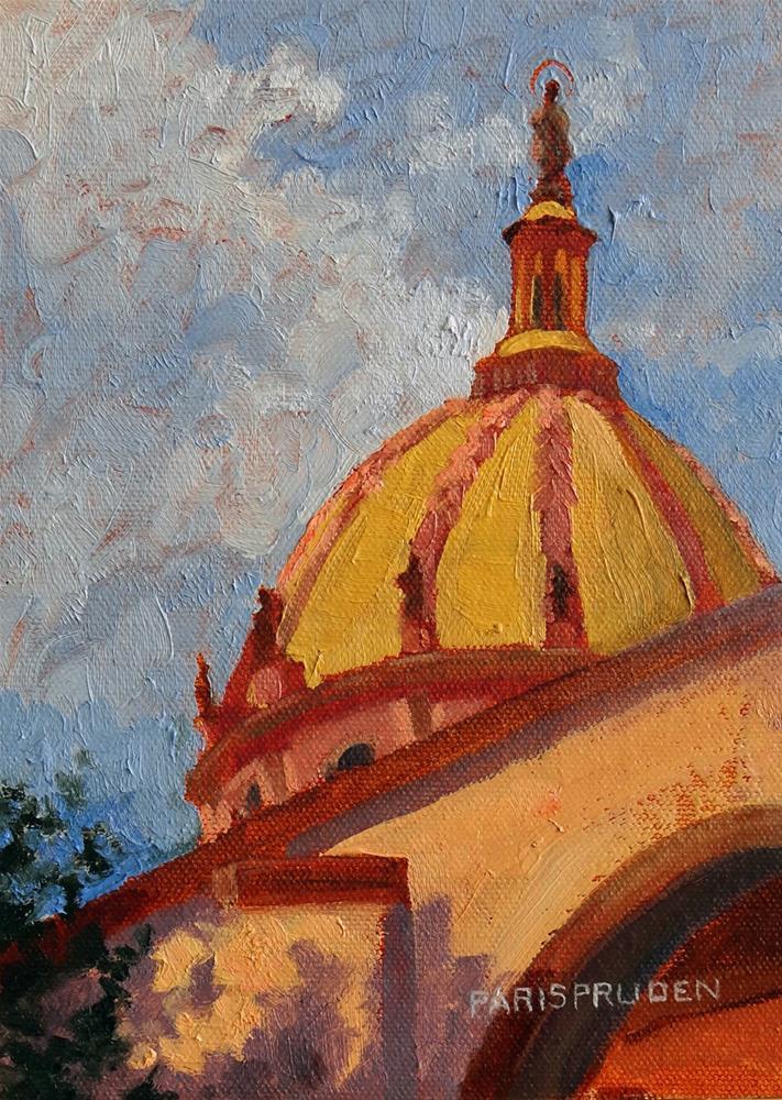 """""""Bellas Artes; San Miguel"""" original fine art by Nancy Paris Pruden"""