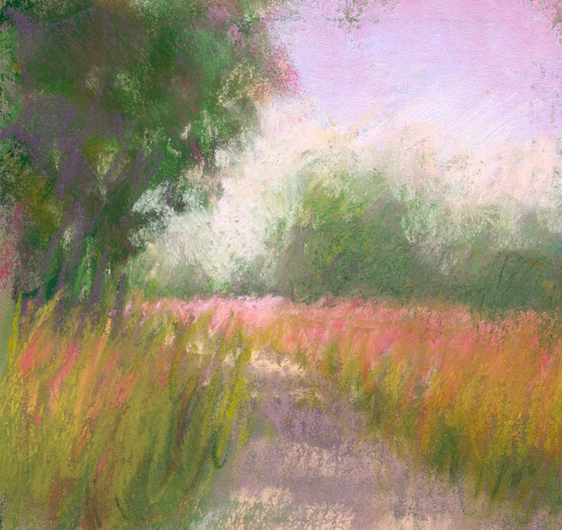 """Land Study 6"" original fine art by Rita Kirkman"