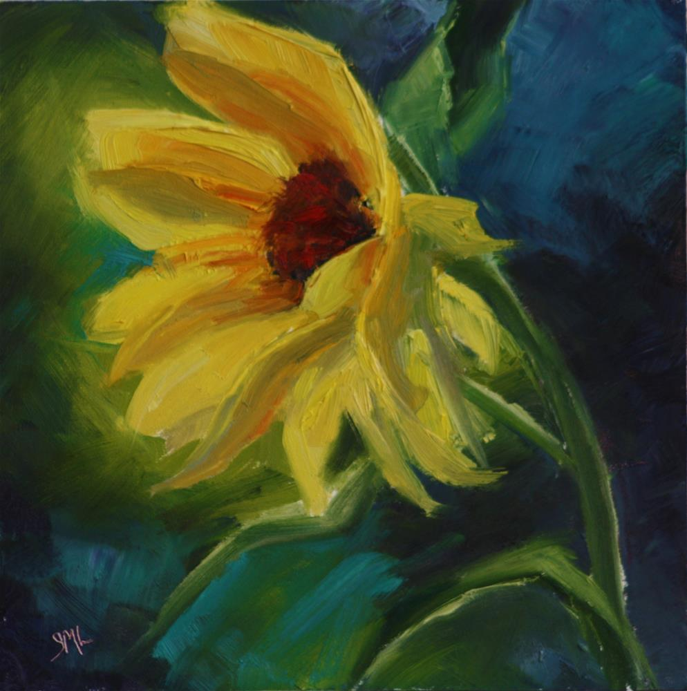"""Sunbright"" original fine art by Sheila Marie"
