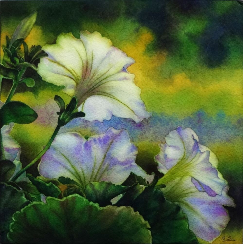 """Summer Gleam"" original fine art by Arena Shawn"
