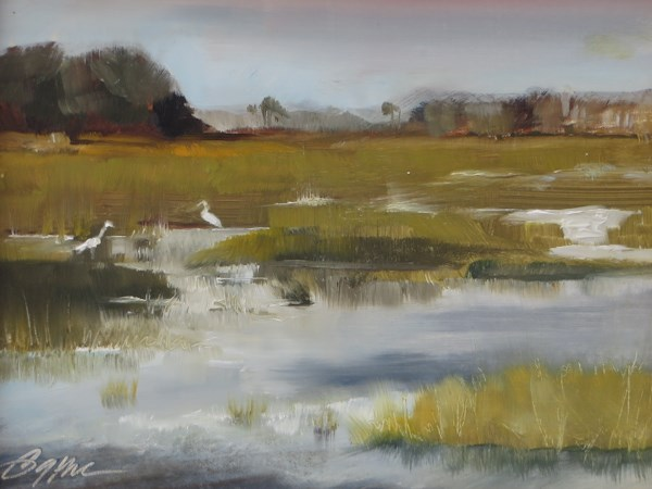 """Chincoteaque"" original fine art by Beth Bathe"
