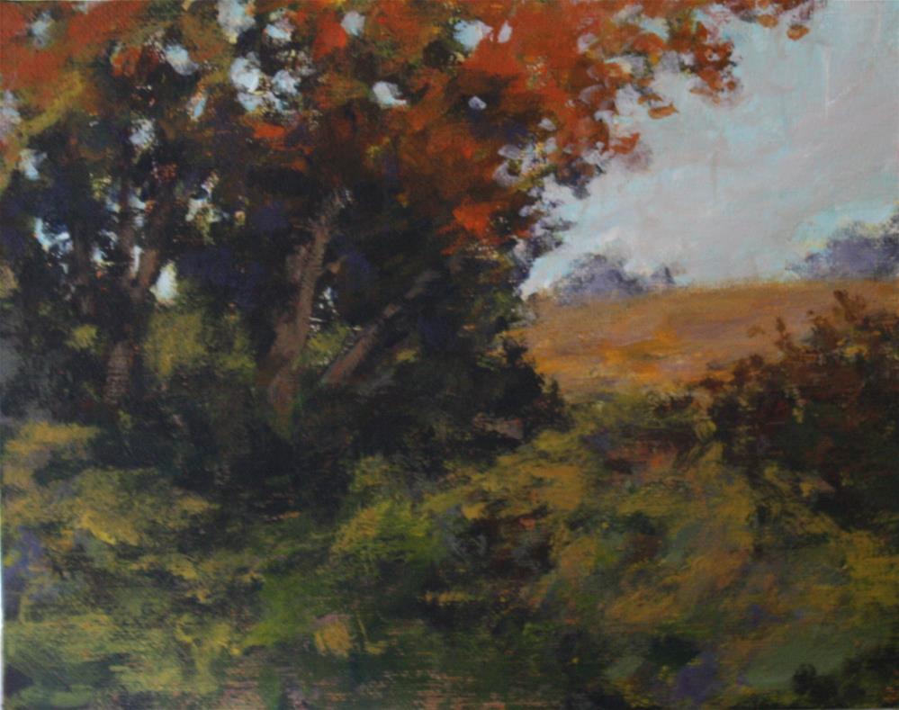 """""""Quiet Autumn"""" original fine art by Shannon Bauer"""