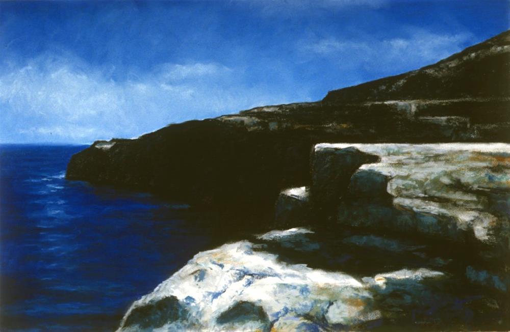 """Where the Burren Meets the Sea"" original fine art by Joe Fitzgerald"