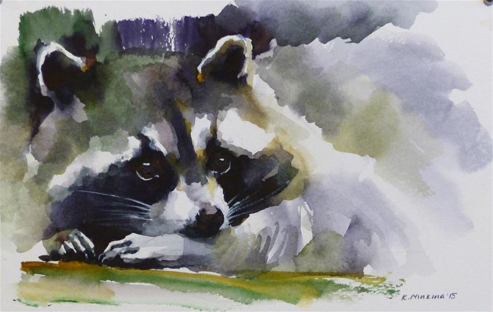 """adopt151"" original fine art by Katya Minkina"