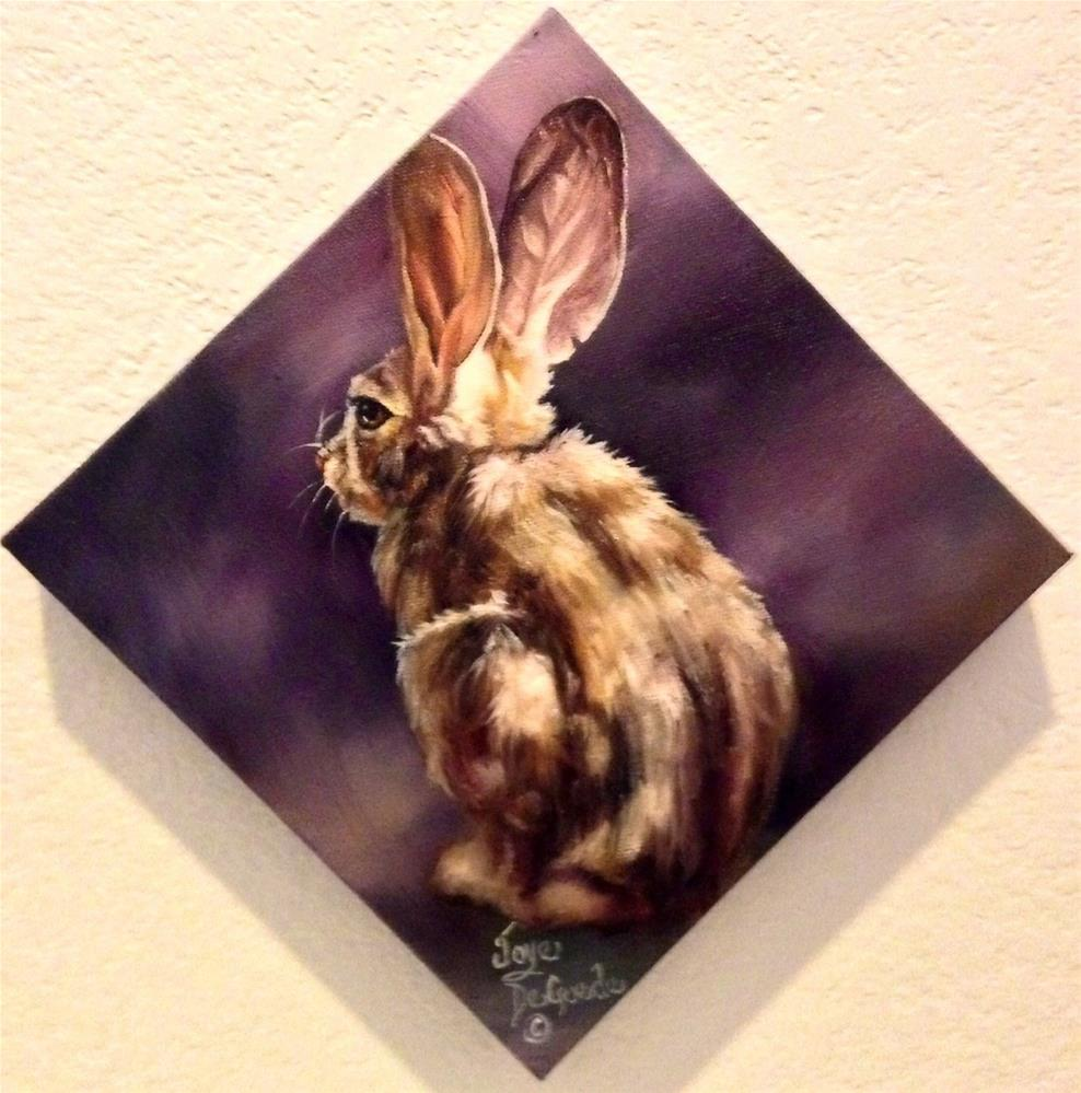 """Bunny Hop Two by Joye DeGoede"" original fine art by Joye DeGoede"