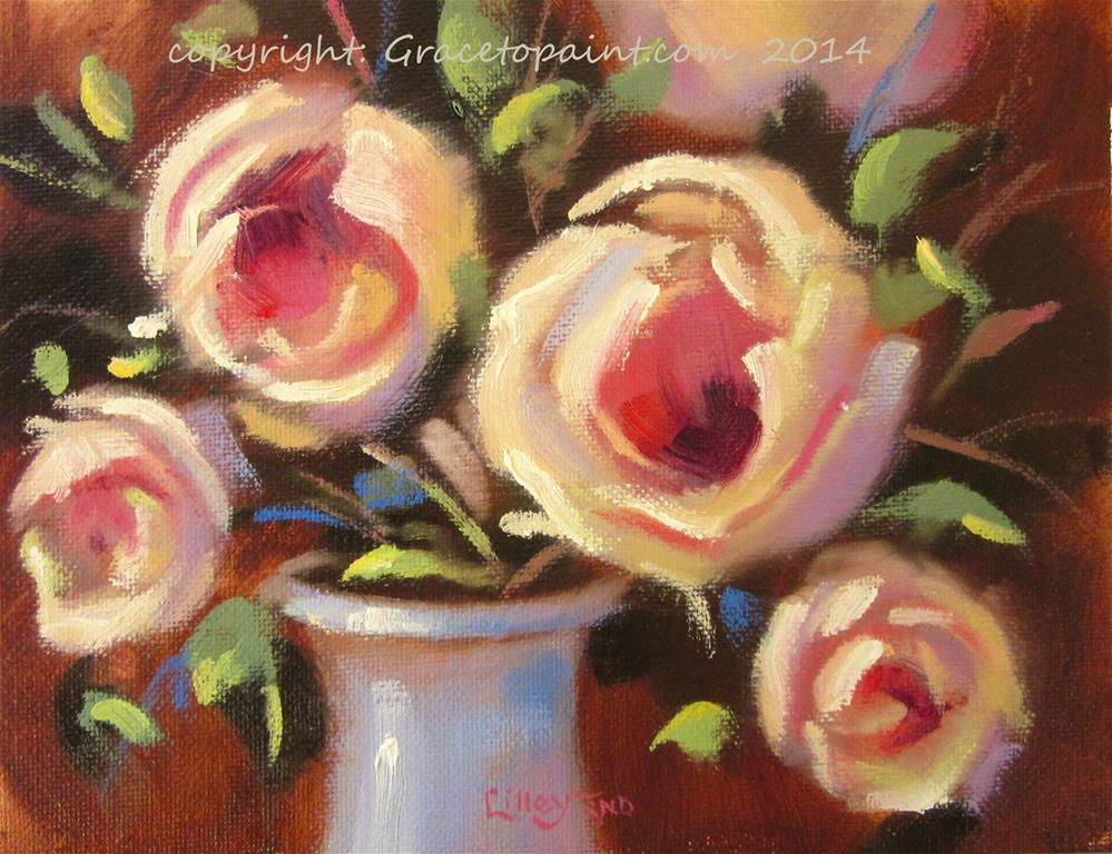 """Rose Quartet"" original fine art by Maresa Lilley"