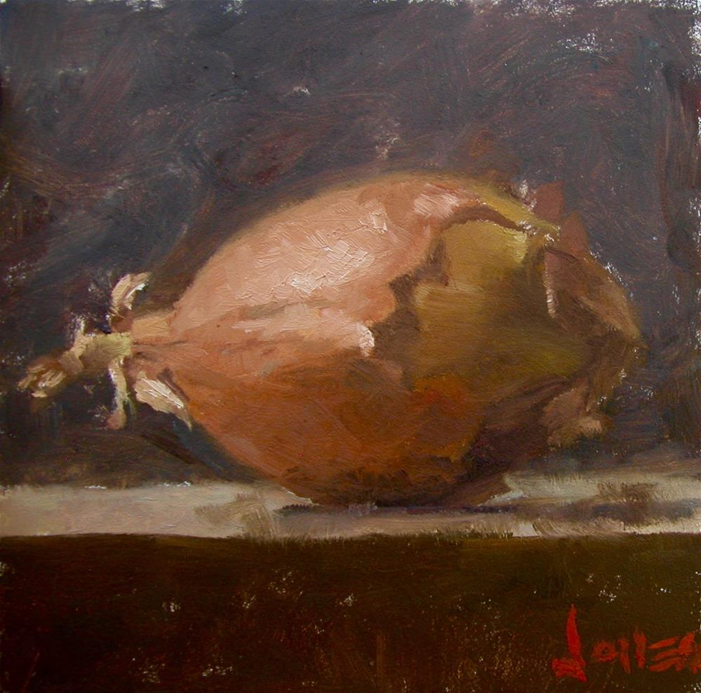 """Gnarly Onion"" original fine art by Richard Jones"