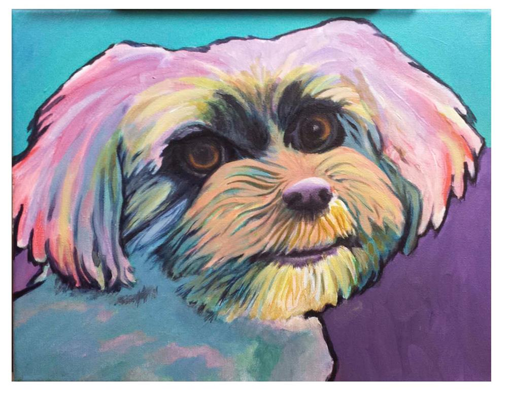 """Cookie"" original fine art by Amanda Stacey"