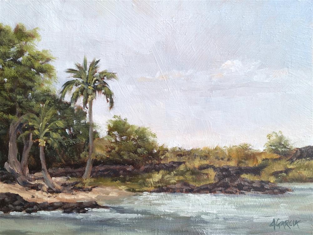"""Pocket of Sand"" original fine art by Jeannie Garcia"