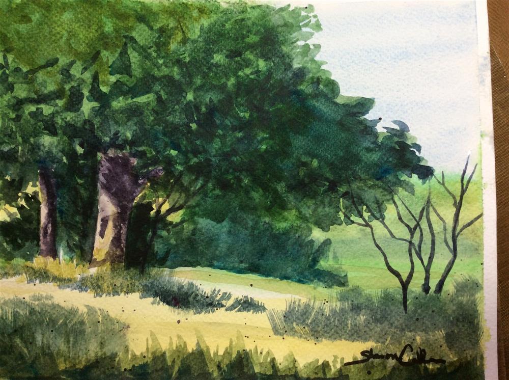 """""""Summer Breeze"""" original fine art by Sharon Cullen"""