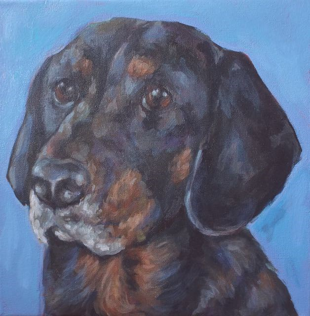 """Mandy"" original fine art by Kathy Hiserman"