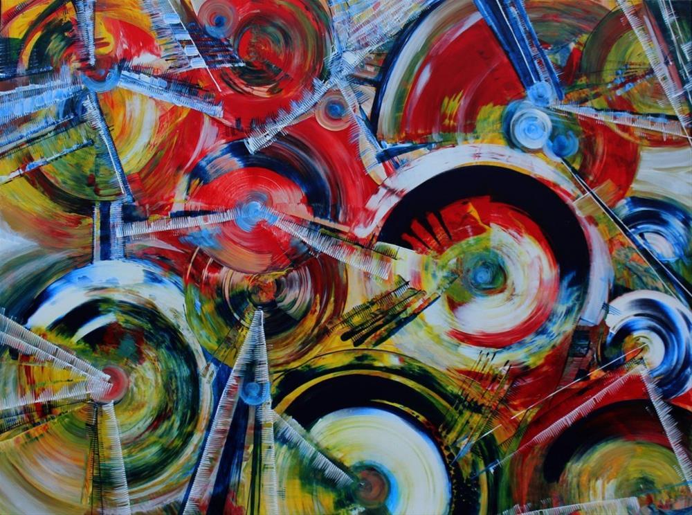 """Music of the Moment"" original fine art by Khrystyna Kozyuk"