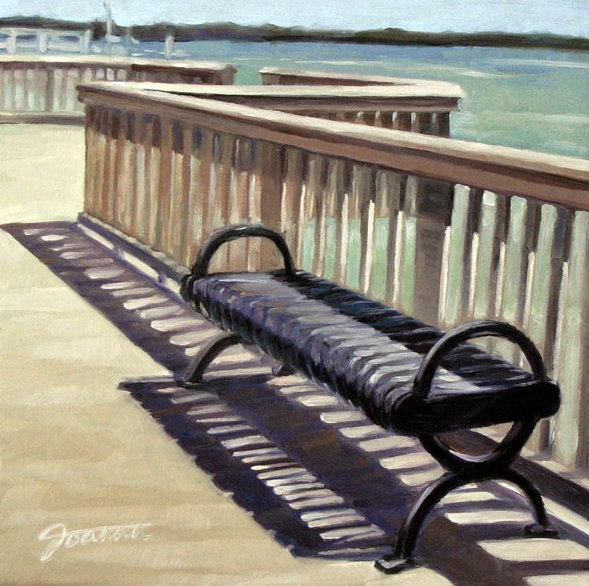 """Striped Shadows"" original fine art by Joanna Bingham"