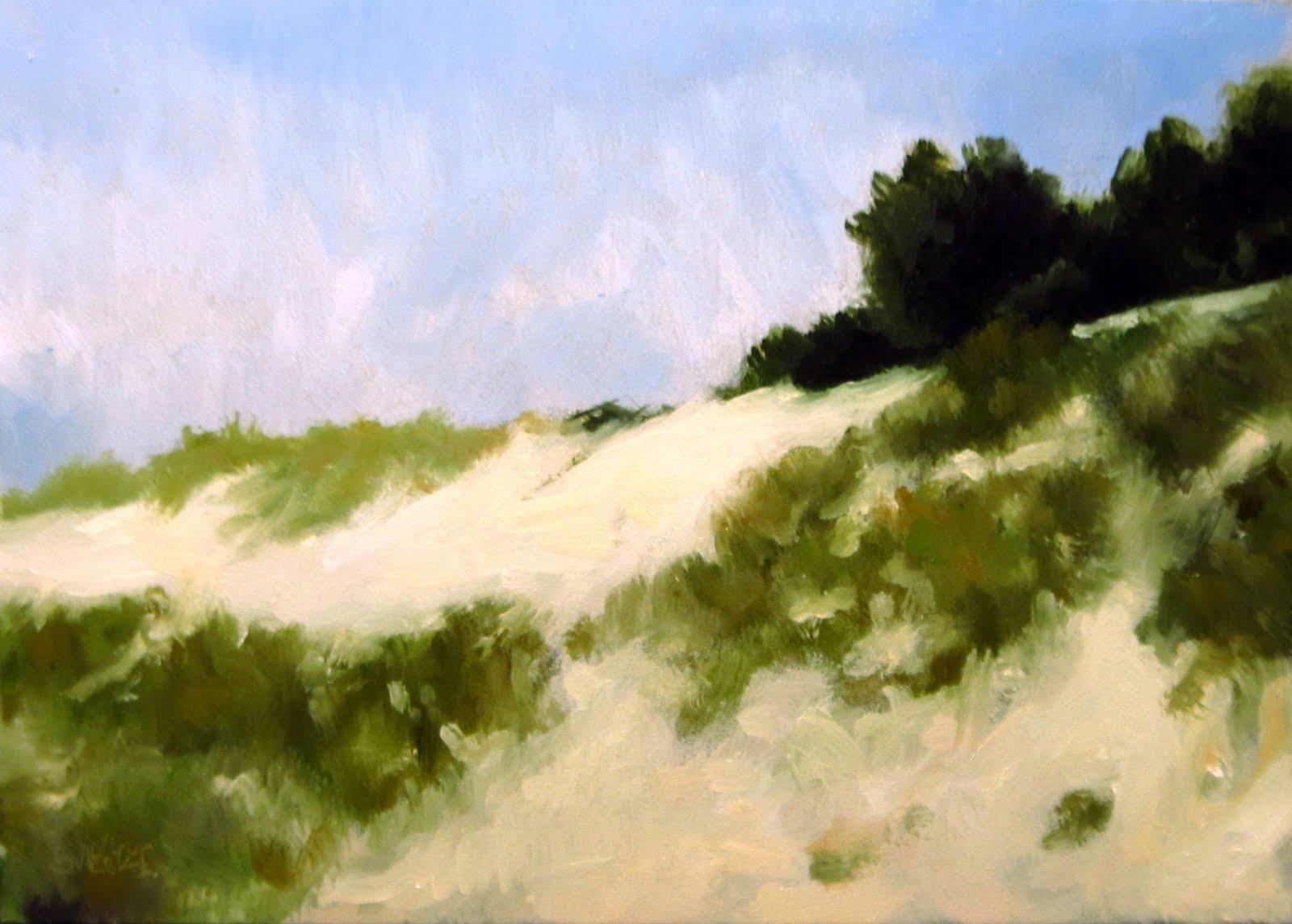 """""""DAILY DIAPER #221 South Carolina Sand"""" original fine art by Brian Burt"""
