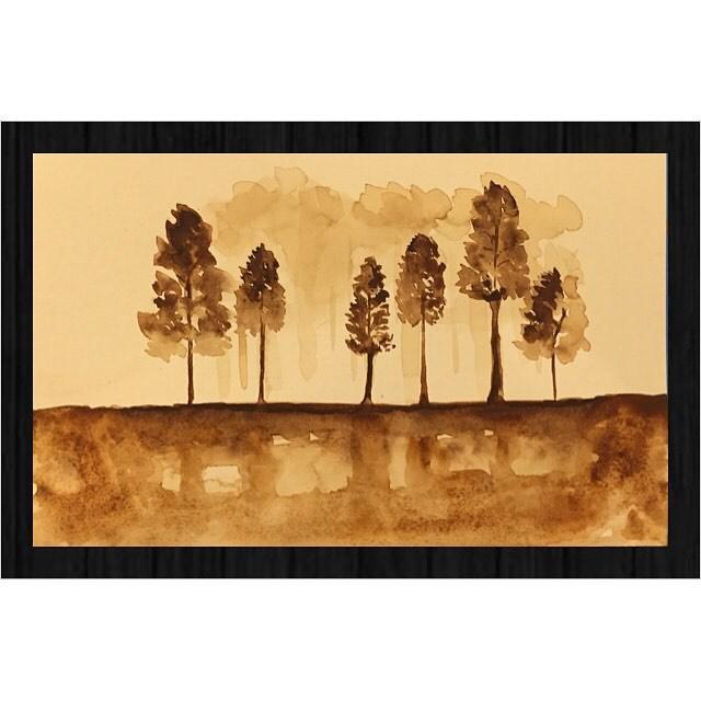 """""""These Trees"""" original fine art by Melissa Gresham"""