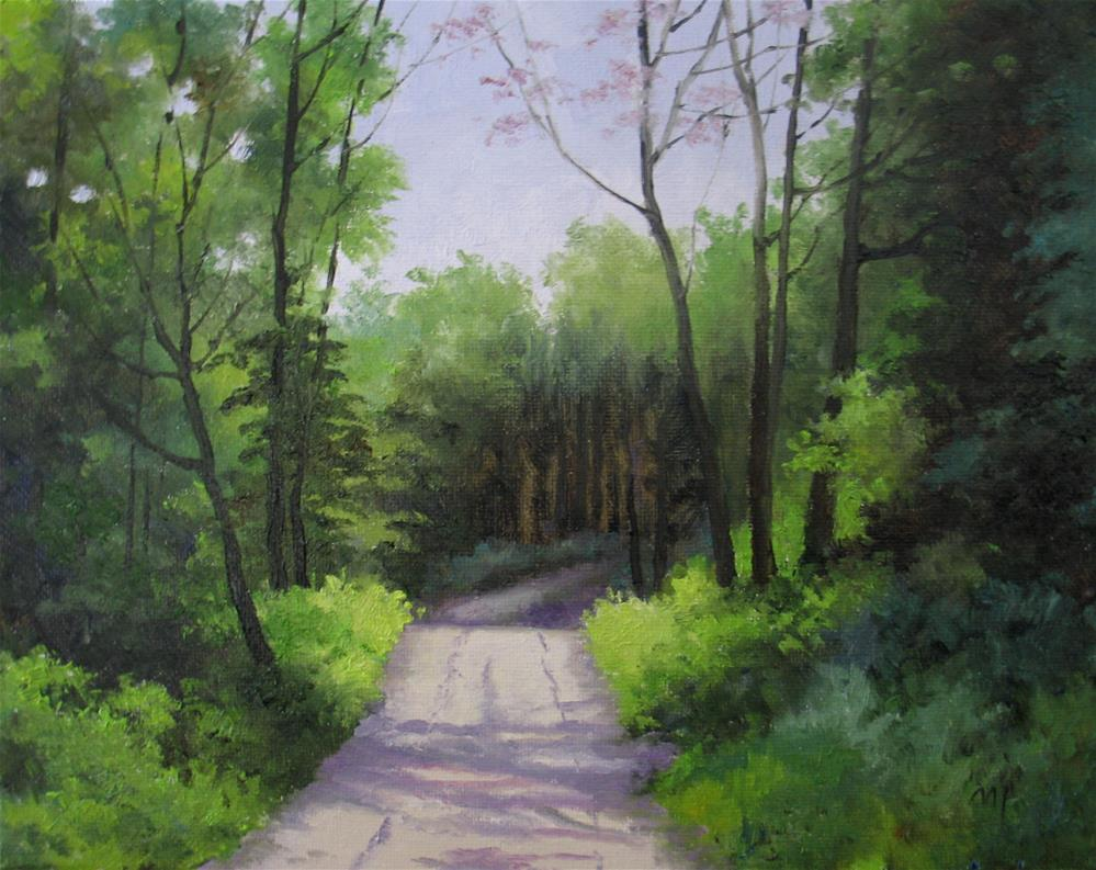 """Woodland Gem"" original fine art by Nel Jansen"