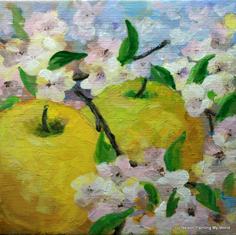 """Promise of Spring"" original fine art by Jean Nelson"