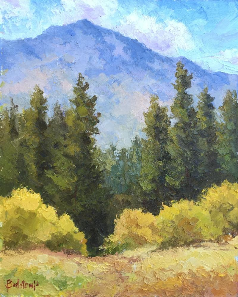 """Canyon in the Sierras - Autumn"" original fine art by Mark Bidstrup"