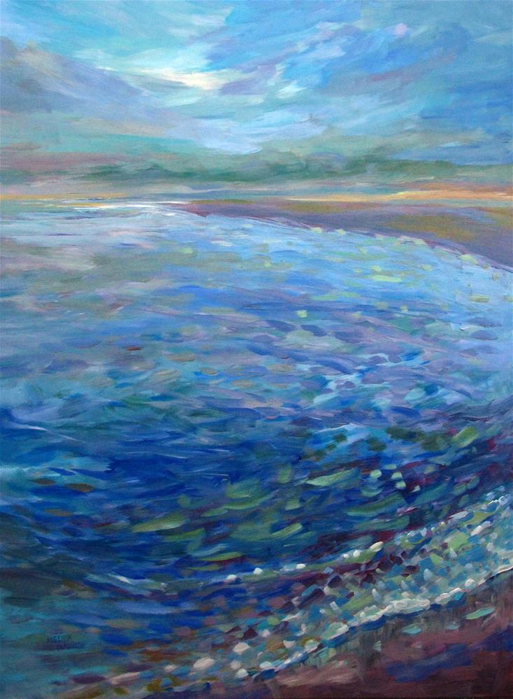 """Clearing Sky"" original fine art by Melissa Gannon"