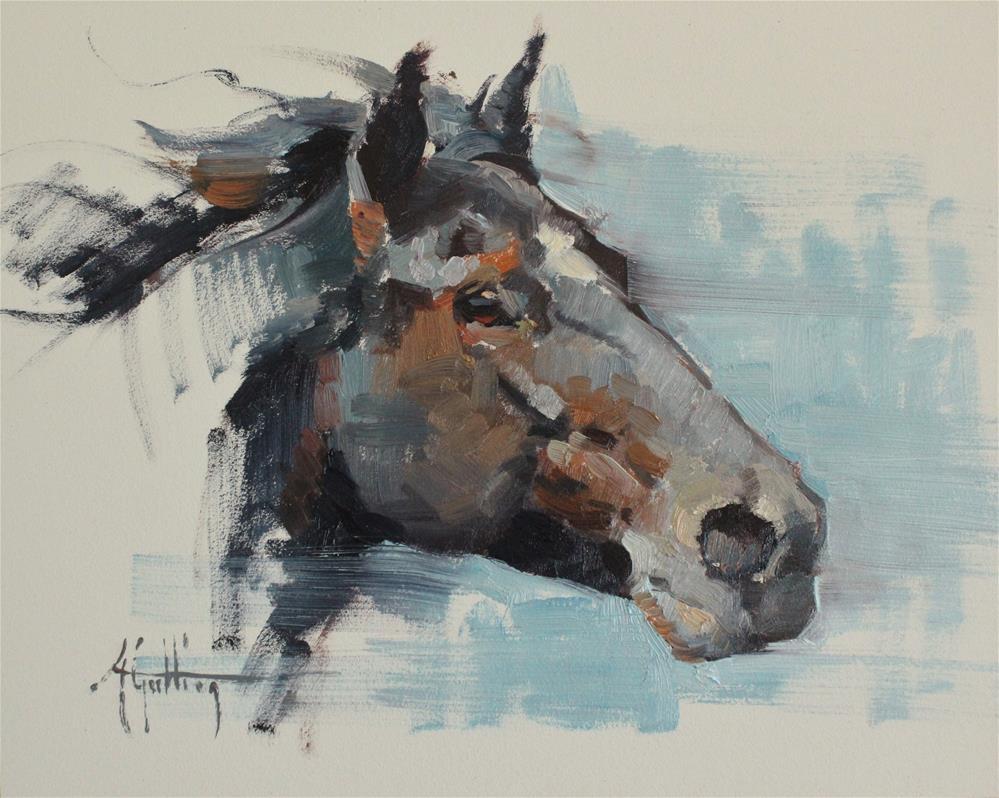 """Sketch #24"" original fine art by Abigail Gutting"