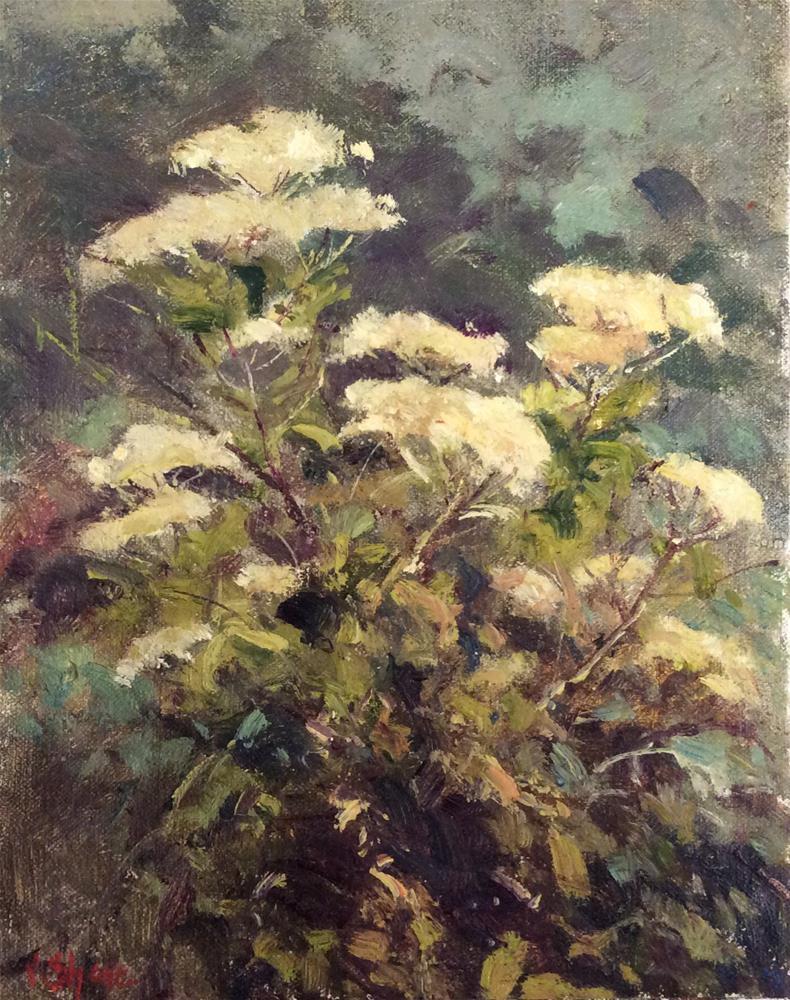 """""""Hog Weed"""" original fine art by John Shave"""