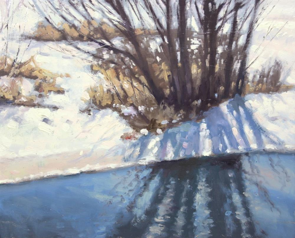 """Winter Tag Alder"" original fine art by Larry Seiler"