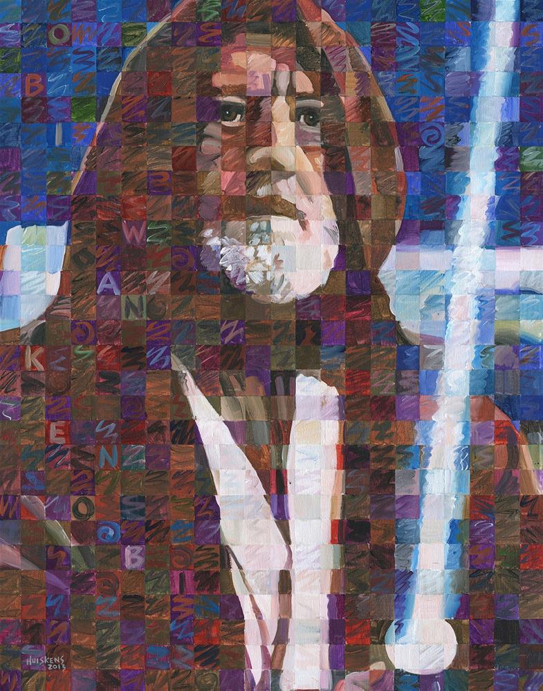 """Obi Wan Kenobi"" original fine art by Randal Huiskens"