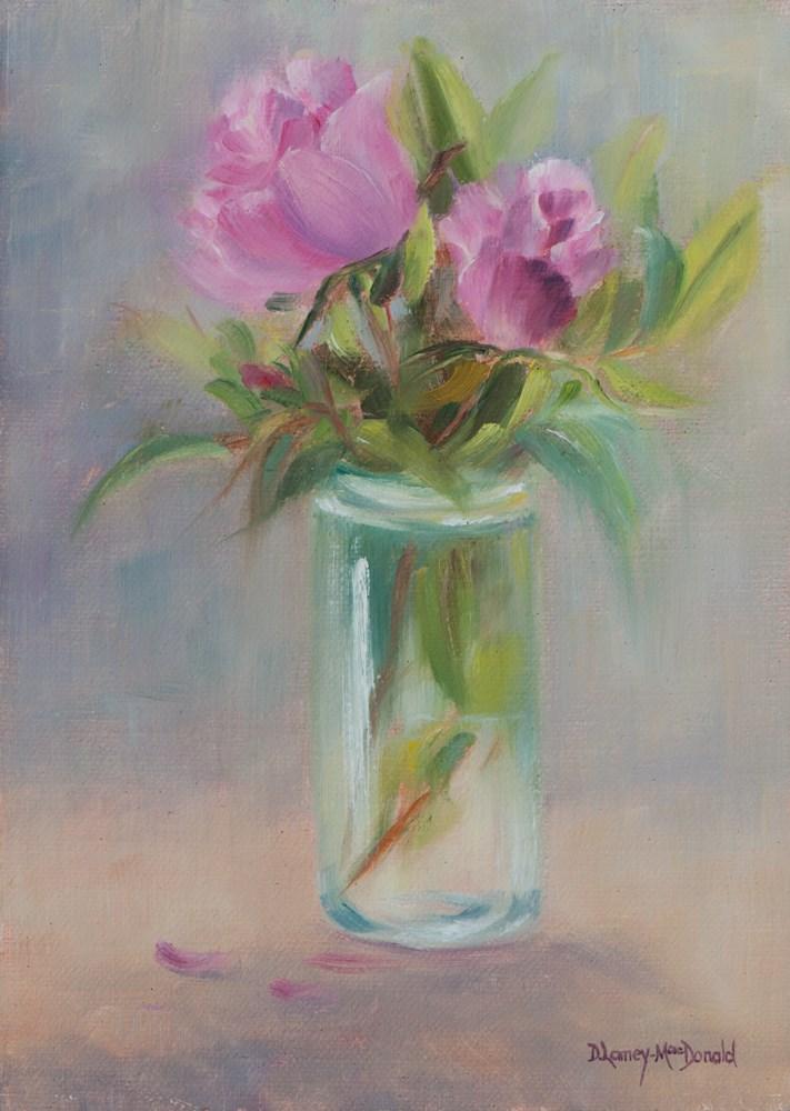 """A Touch of Elegance"" original fine art by Debbie Lamey-Macdonald"