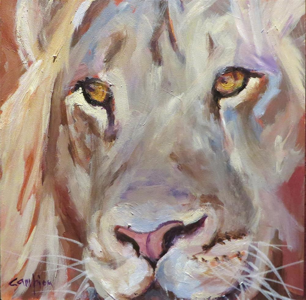 """528 Royalty"" original fine art by Diane Campion"
