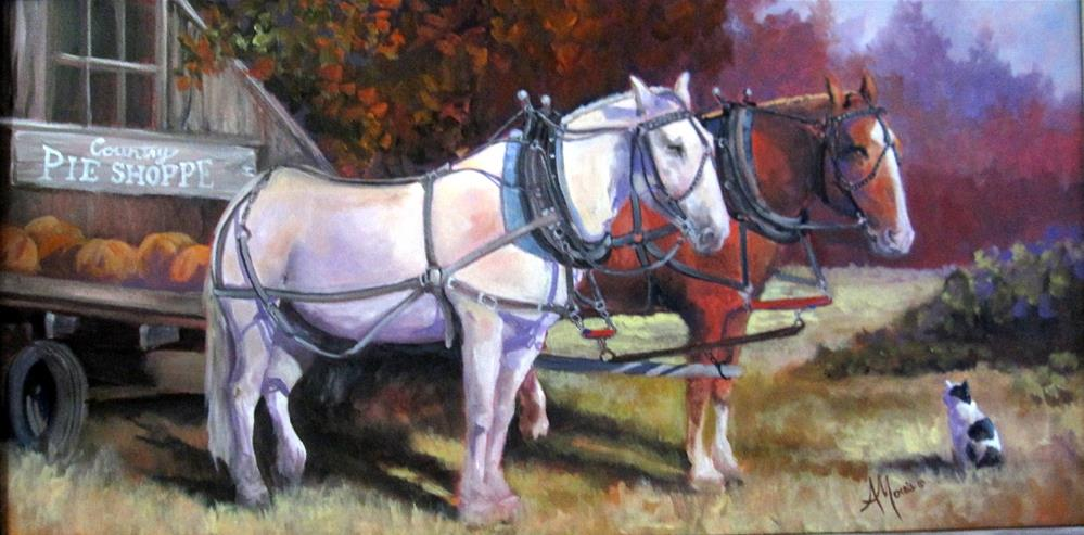 """Sugar and Cinnimon"" original fine art by Andrea Morris"