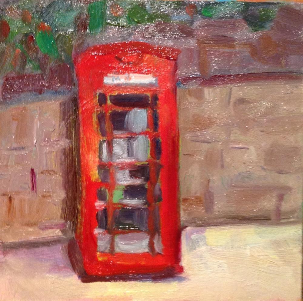 """London Calling"" original fine art by Marcia Bergtholdt"