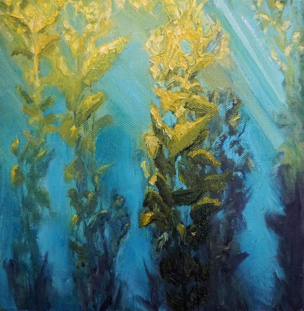 """In the Kelp Forest"" original fine art by Patricia Matranga"