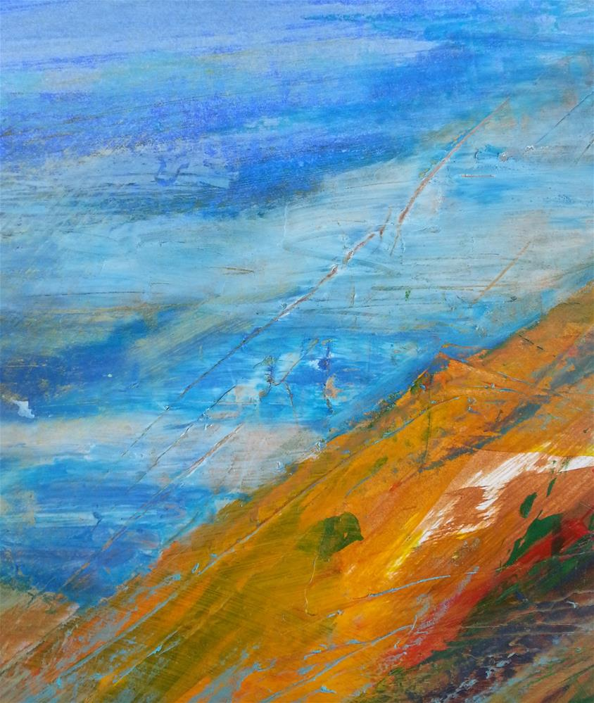 """Vista"" original fine art by Becky Chappell"