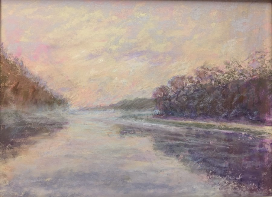 """Beyond the Bend"" original fine art by karen israel"