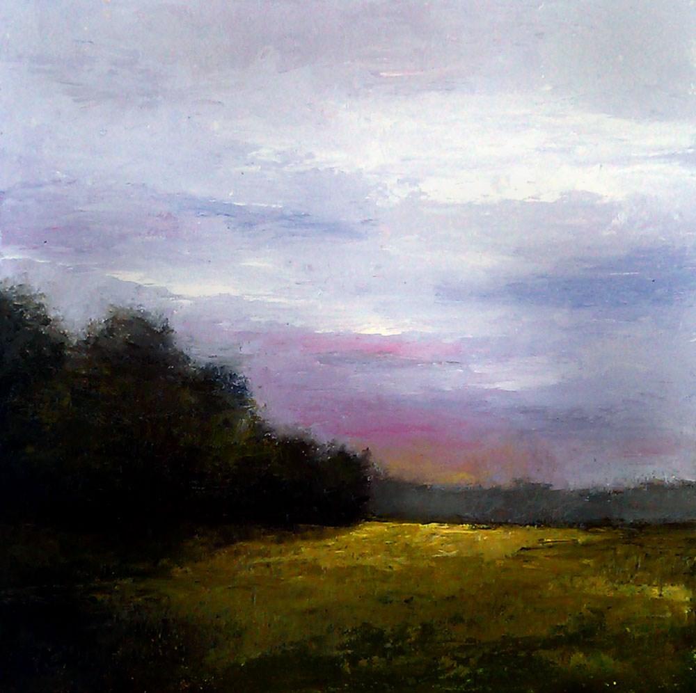"""""""Dark Woods"""" original fine art by Bob Kimball"""