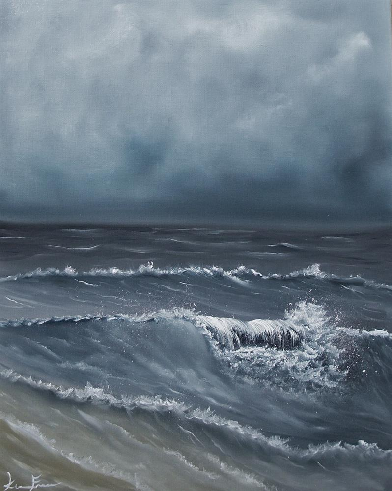 """Then Cometh A Storm"" original fine art by Ken Fraser"