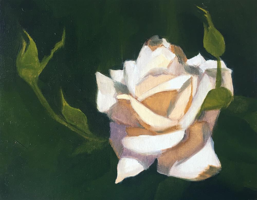 """""""Rose"""" original fine art by Van DeGoede"""