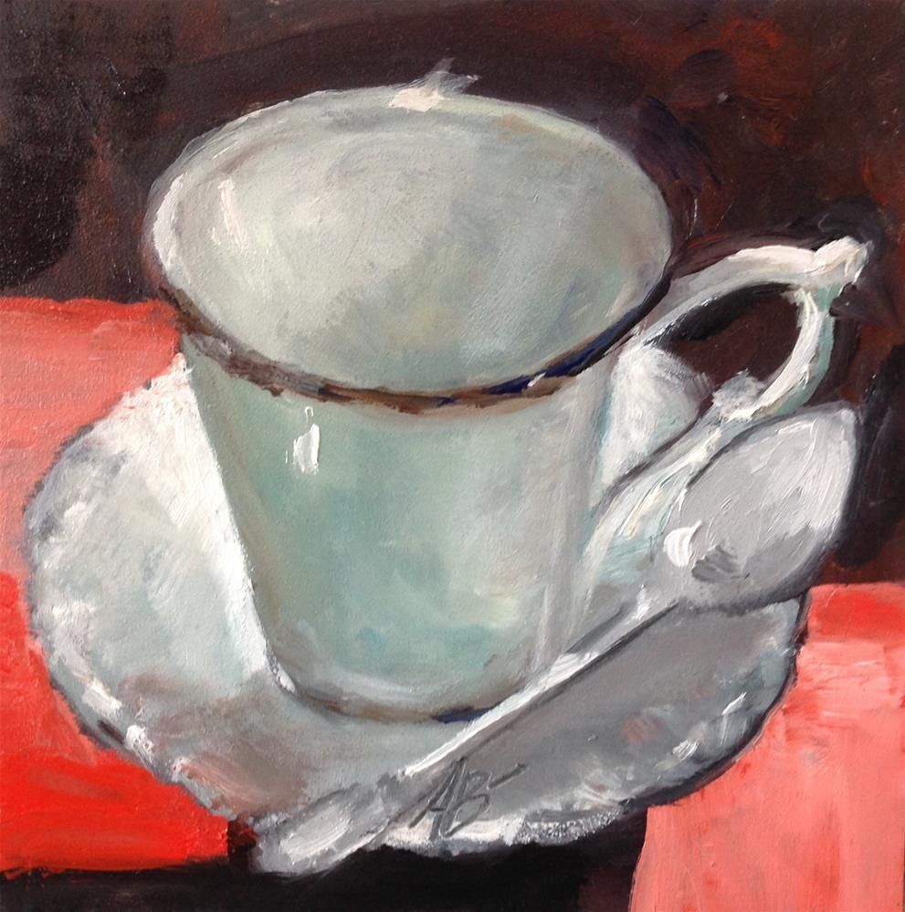 """A Cup in the afternoon light"" original fine art by Annette Balesteri"