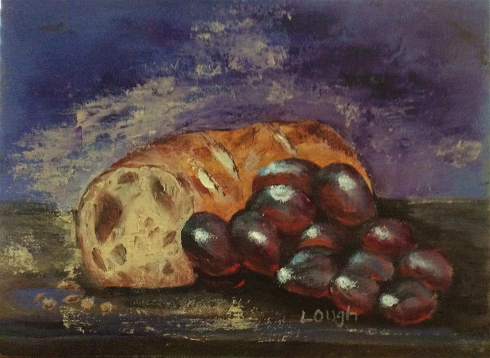 """Elements of Communion"" original fine art by Charlotte Lough"