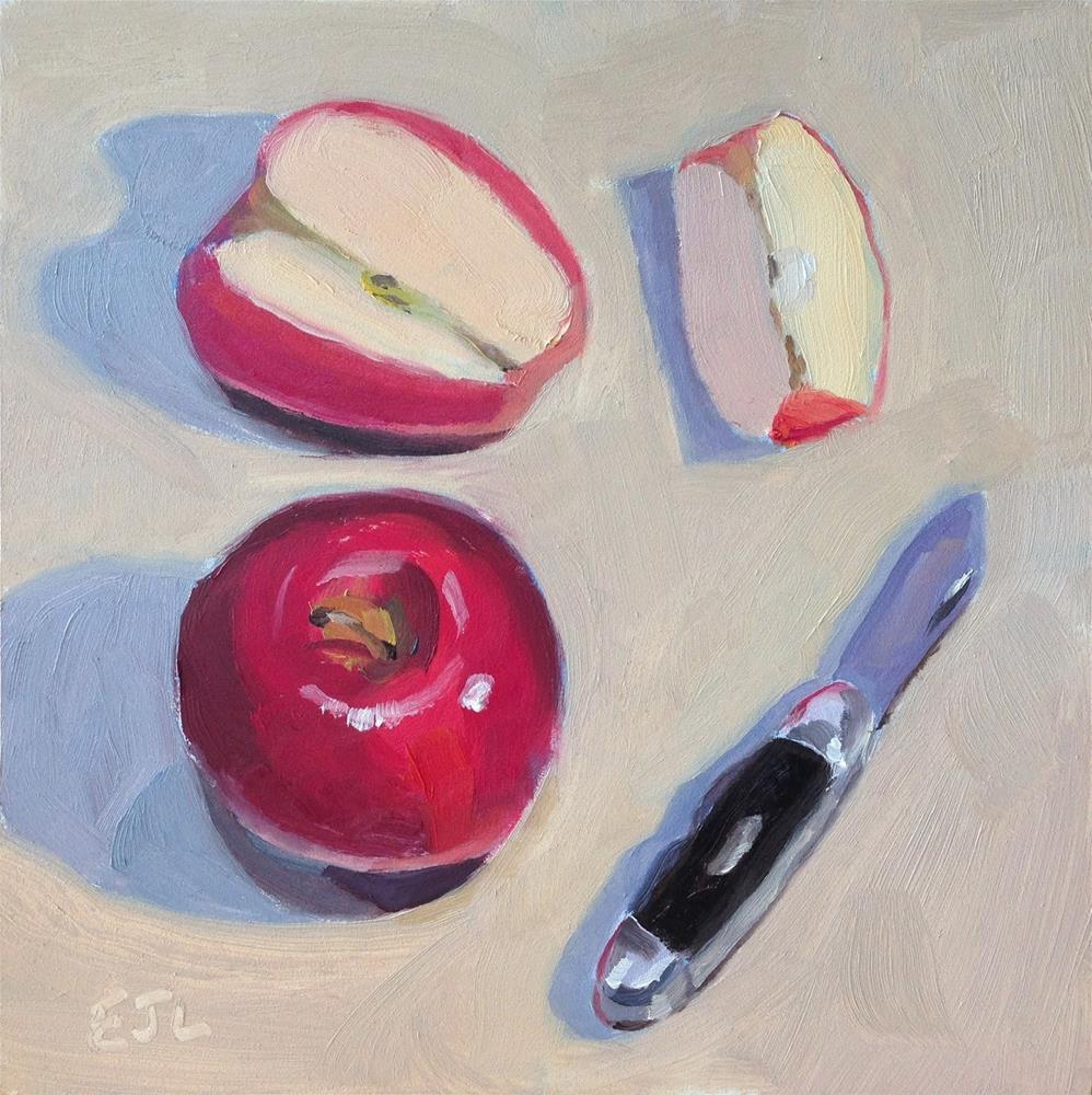 """Apple Jack"" original fine art by Eric Larson"