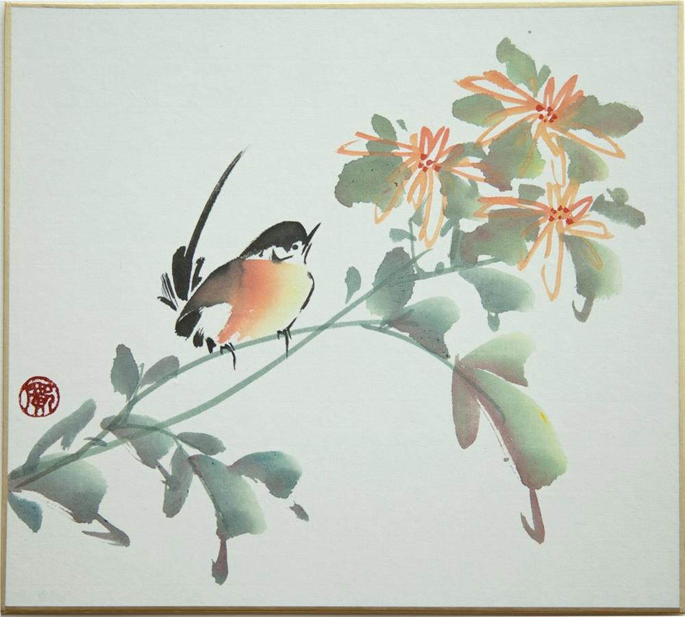 """Chrysanthemum"" original fine art by R kwong"