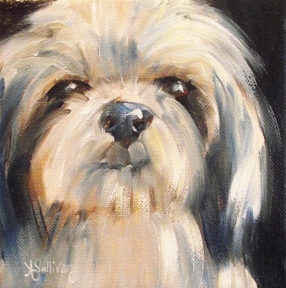 """He Rules"" original fine art by Angela Sullivan"