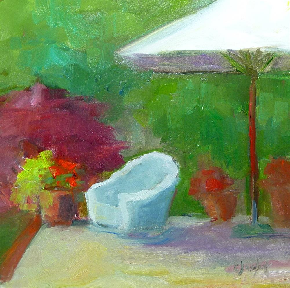"""All I need is a book"" original fine art by Carol Josefiak"