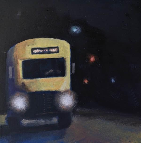 """""""FIRST DAY"""" original fine art by Gerald Schwartz"""