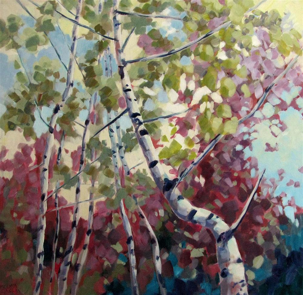 """Color Twirl"" original fine art by Melissa Gannon"