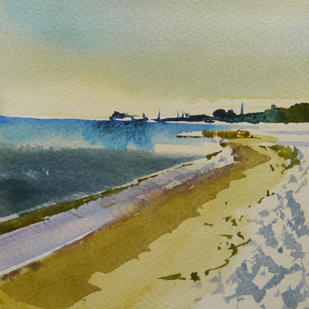 """shipyard"" original fine art by Beata Musial-Tomaszewska"