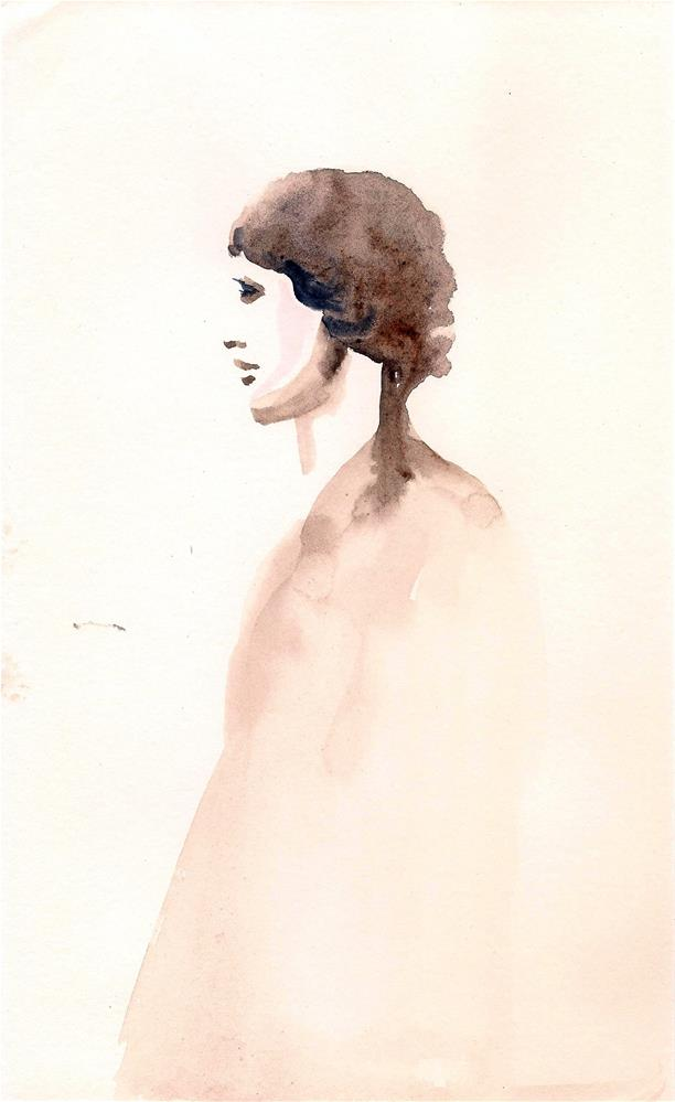 """The Boy"" original fine art by Asha Shenoy S"